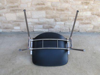 chaise Castelli skaï noir