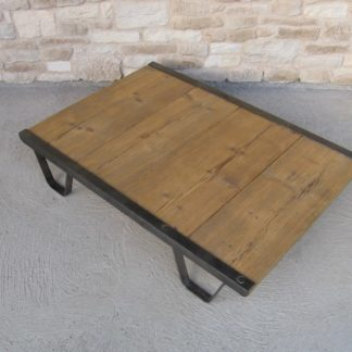 Table basse palette atelier industriel