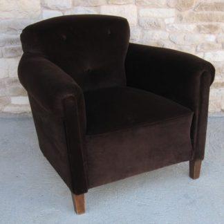 fauteuil club vintage 60's