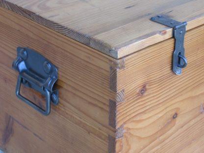coffre malle ancien bois
