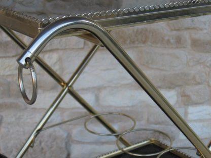 dessserte bar verre métal