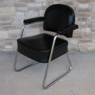 fauteuil bureau industriel noir