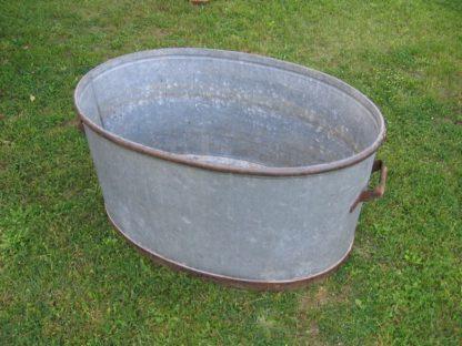 baignoire zinc ancienne