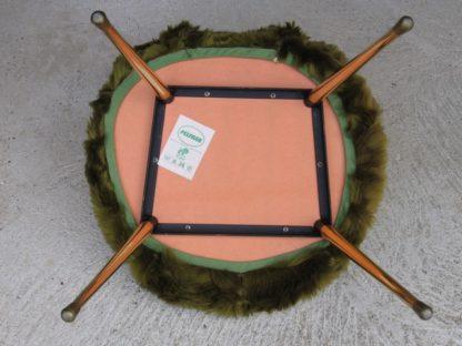 chaise moumoute fourrure pelfran