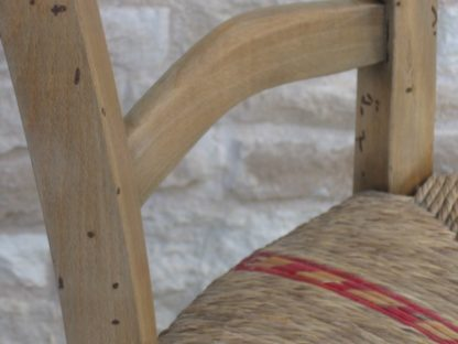 chaise ancienne paillage traditionnel