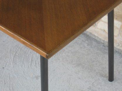 table jeux bistrot bois métal