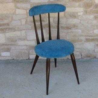 chaise moumoute fourrure ercol