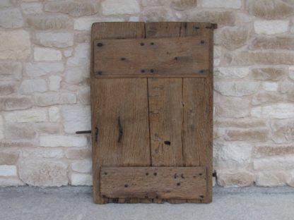 volet ancien porte bois